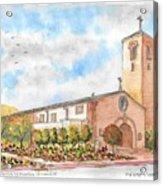 Our Lady Of Assumption Catholic Church, Claremont, California Acrylic Print