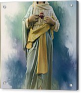 Our Lady Of The Immaculate Heart Acrylic Print