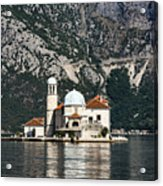 Our Lady Of The Rocks Church Acrylic Print