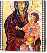 Our Lady Of The Snows  Acrylic Print