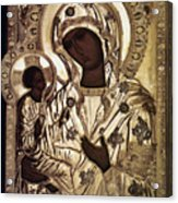 Our Lady Of Yevsemanisk Acrylic Print