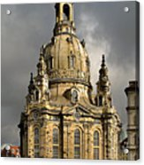 Our Lady's Church Of Dresden Acrylic Print by Christine Till