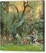 Our Little Garden Acrylic Print