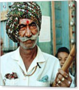 Our Man In India Acrylic Print
