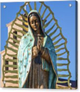 Our Mother Of Guadalupe Acrylic Print