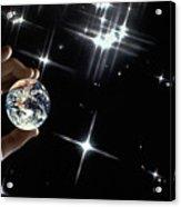 Our Precious Planet Acrylic Print