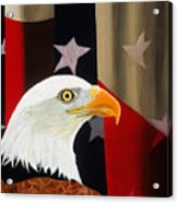 Our Proud Bird Acrylic Print