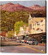 Our Town Acrylic Print