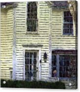 Our Town's Witch House Acrylic Print