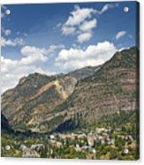 Ouray Colorado Nestled In The San Juan Mountains Acrylic Print