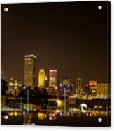 Tulsa - Our World Acrylic Print