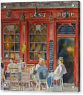 Out For A Pint Acrylic Print