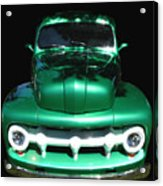 Out Of The Shadows - 51 F100 Ford  Acrylic Print