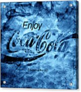 Out Of This World Coca Cola Blues Acrylic Print