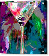 Out Of This World Martini Acrylic Print
