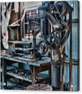 Out Of Work Acrylic Print by Sandra Bronstein