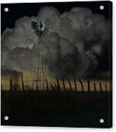 Out On The Prarries Of Texas Acrylic Print