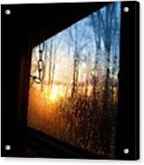 Out The Trailer Window Acrylic Print