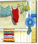 Out To Dry Acrylic Print