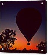 Outback Balloon Launch Acrylic Print