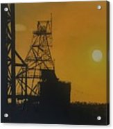 Outback Mines Acrylic Print