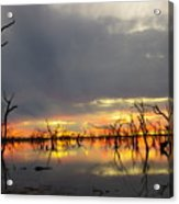 Outback Sunset Acrylic Print