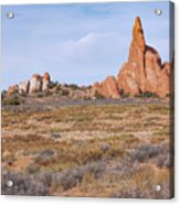 Outcroppings Acrylic Print