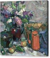 Outdoor Lilacs Acrylic Print