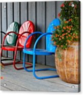 Outdoor Living Acrylic Print