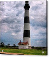 Outer Banks Beach Lighhouse  Acrylic Print