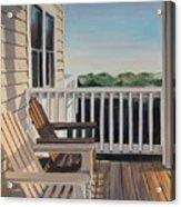 Outer Banks Morning Sun Acrylic Print