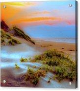Outer Banks Soft Dune Sunrise Fx2 Acrylic Print