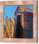 Outhouse 2 Acrylic Print