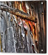 Outhouse Holzworth Historic Site Acrylic Print