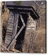 Outhouse3 Acrylic Print