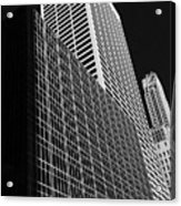Outlines New York City Acrylic Print