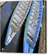 Outrigger Canoe Boats Acrylic Print