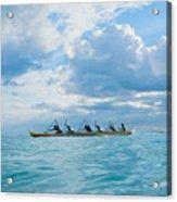Outrigger Canoe Acrylic Print