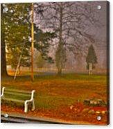 Outside My Window Acrylic Print
