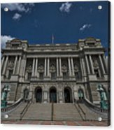 Outside The Library Of Congress Acrylic Print
