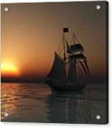 Outward Bound Acrylic Print by Timothy McPherson