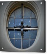 Oval Window Of Wittenberg Acrylic Print