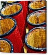 Over A Barrel Acrylic Print