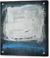Over Blue Acrylic Print