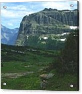 Over Logan's Pass Acrylic Print