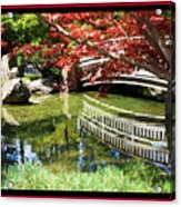 Over Springtime Pond Acrylic Print