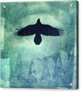 Over The Edges Acrylic Print