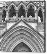 Over The Entrance To The Royal Courts  Acrylic Print
