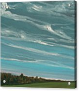 Over The Fields Acrylic Print