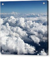 Over The Heavenly Clouds Acrylic Print